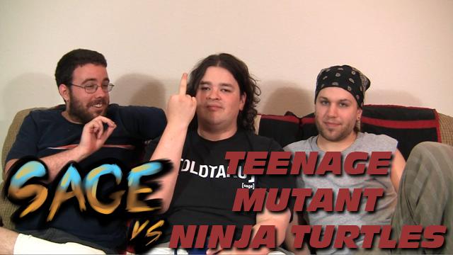 Sage vs. Teenage Mutant Ninja Turtles