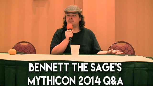 Bennett The Sage's Mythicon 2014  Q&A